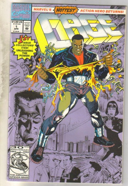Cage #1 comic book mint 9.8