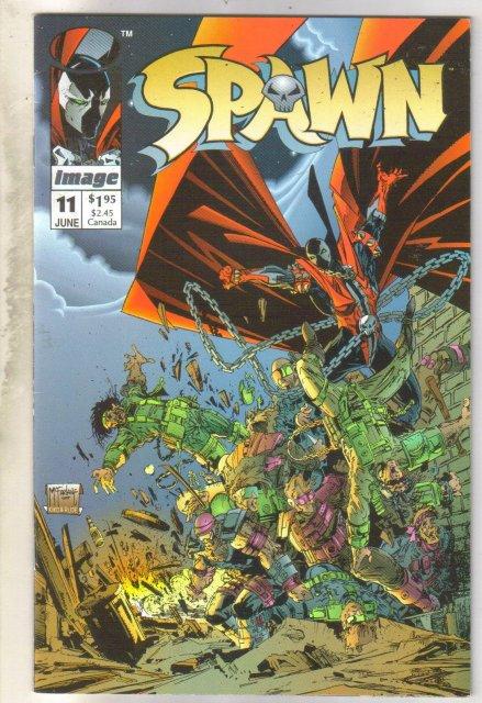 Spawn #11 comic book near mint 9.4