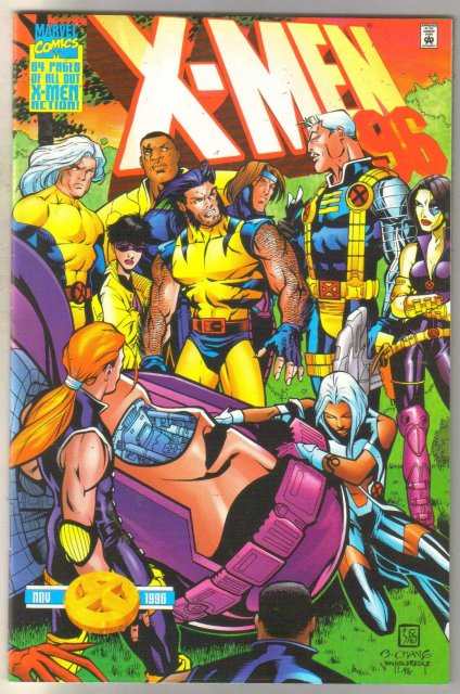 X-Men Annual #96 comic book near mint 9.4