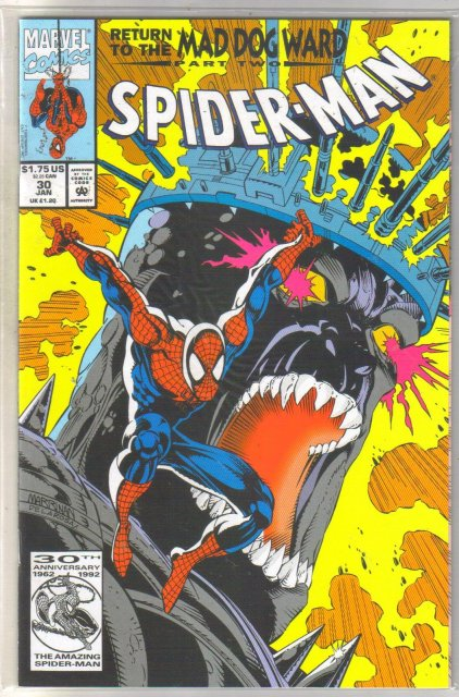 Spider-man #30 comic book mint 9.8