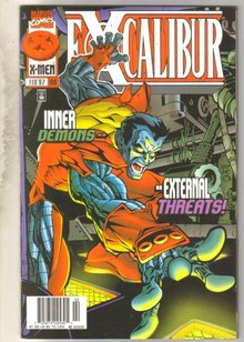 Excalibur #106 comic book near mint 9.4