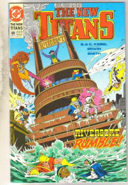 New Titans #69 comic book mint 9.8
