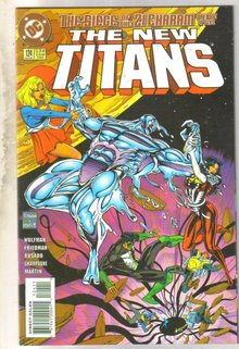 New Titans #124 comic book near mint 9.4