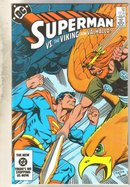 Superman #394 comic book near mint 9.4