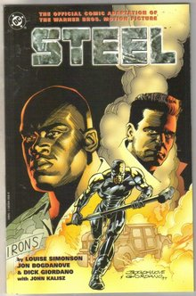 Steel Movie Adaptation comic book mint 9.8