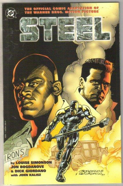 Steel Movie Adaptation comic book mint 9.8