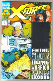 X-Force #25 comic book mint 9.8