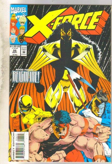 X-Force #26 comic book mint 9.8