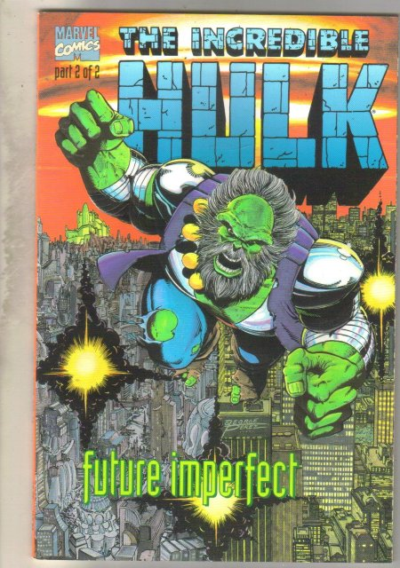 Incredible Hulk Future Imperfect #2 comic book mint 9.8