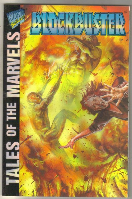 Tales of the Marvels: Blockbuster #1 comic book mint 9.8