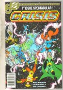 Crisis on Infinite Earths #1 comic book near mint 9.4