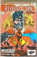 Superman annual #5 comic book near mint 9.4