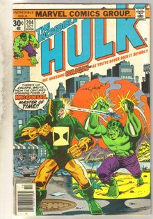 Incredible Hulk #204 comic book very fine 8.0