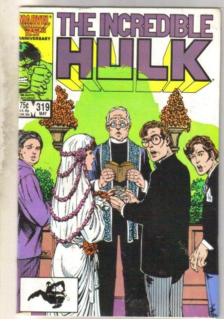 Incredible Hulk #319 comic book fine 6.0