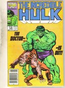 Incredible Hulk #320 comic book fine 6.0