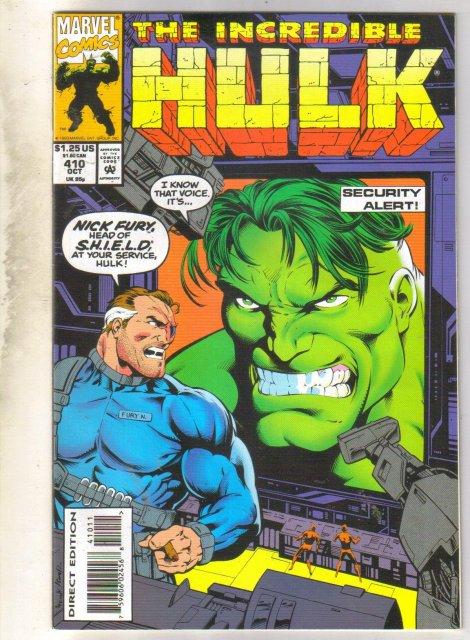Incredible Hulk #410 comic book near mint 9.4