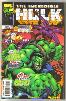 Incredible Hulk #470 comic book near mint 9.4