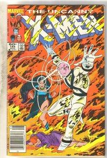 Uncanny X-Men #184 comic book good 2.0