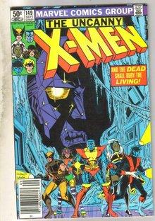 Uncanny X-Men #149 comic book fine 6.0