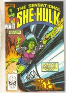 Sensational She-Hulk #6 comic book near mint 9.4