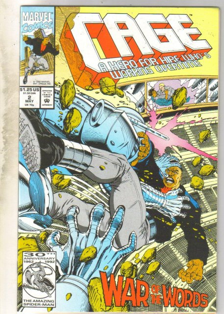 Cage #2 comic book mint 9.8