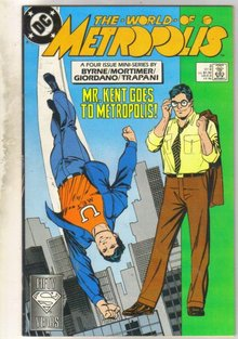 World of Metropolis #3 comic book very fine 8.0