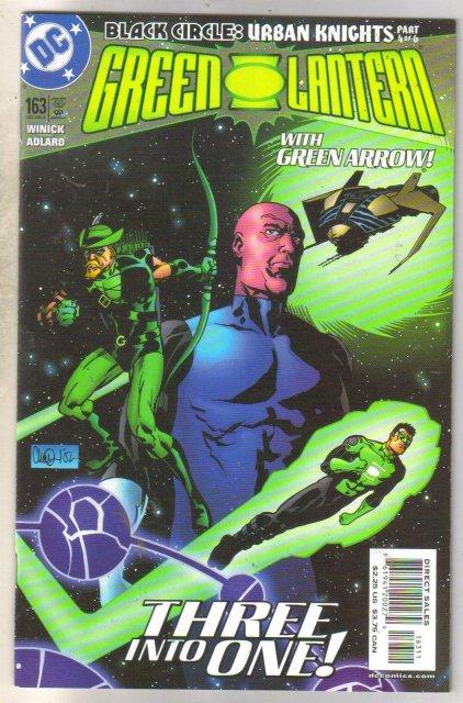 Green Lantern #163 comic book mint 9.8