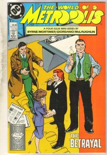 World of Metropolis #1 comic book near mint 9.4