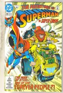 Adventures of Superman #495 comic book mint 9.8