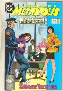 World of Metropolis #2 comic book very fine 8.0