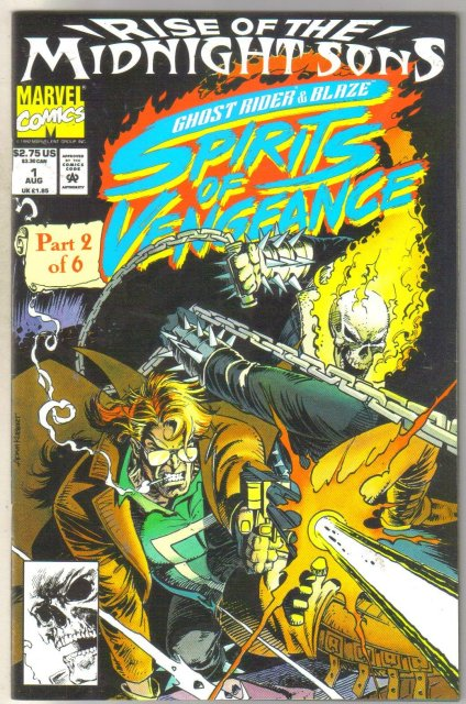 Ghost Rider Spirits of Vengeance #1 comic book near mint 9.4