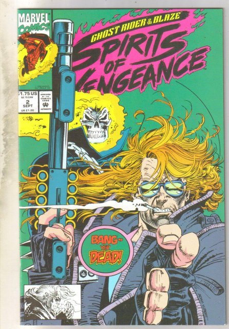 Ghost Rider Spirits of Vengeance #2 comic book mint 9.8