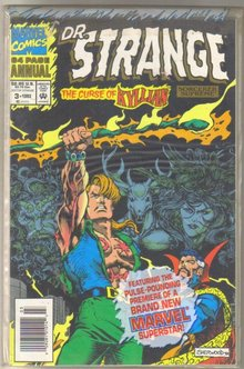 Doctor Strange,Sorcerer Supreme annual #3 comic book mint 9.8