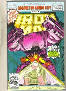 Iron Man annual #13 comic book near mint 9.4