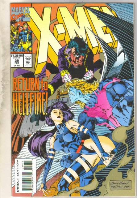 X-Men #29 comic book near mint 9.4