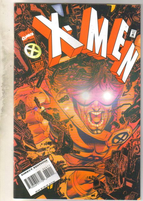 X-Men #44 comic book near mint 9.4