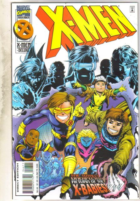 X-Men #46 comic book near mint 9.4