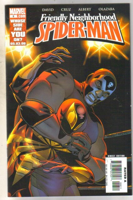 Friendly Neighborhood Spider-man #6 comic book near mint 9.4