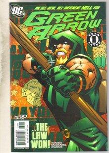 Green Arrow #60 comic book mint 9.8