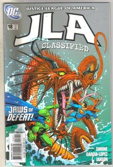 JLA Classified #18 comic book mint 9.8
