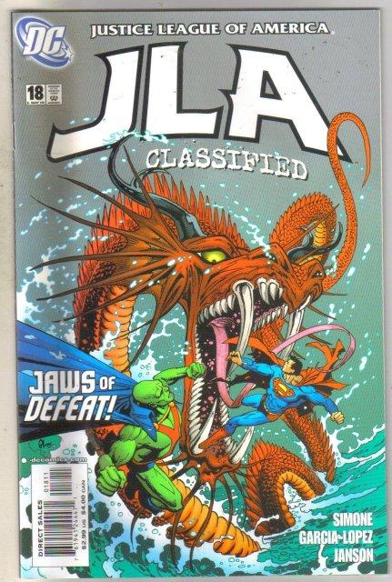 JLA Classified #18 comic book mint 9.8