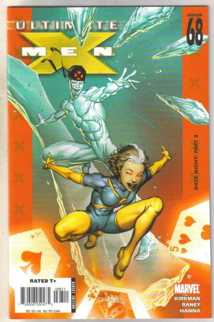 Ultimate X-Men #68 comic book near mint 9.4