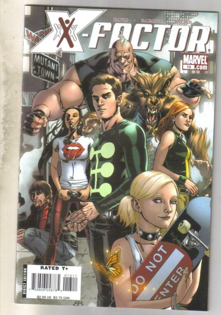 X-Factor #13 comic book near mint 9.4