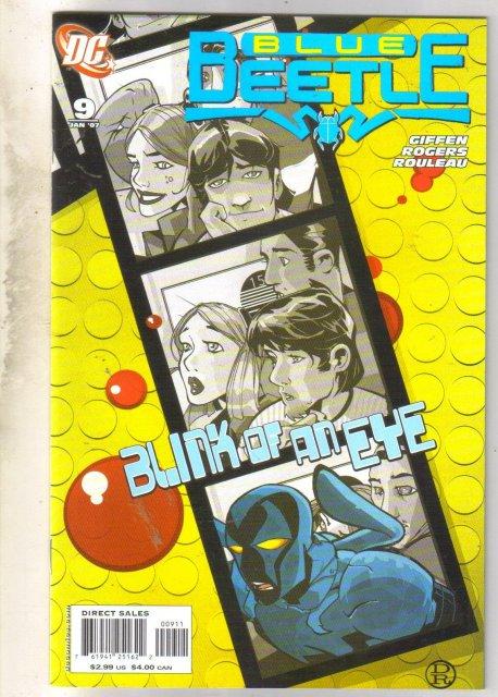 Blue Beetle #9 comic book mint 9.8