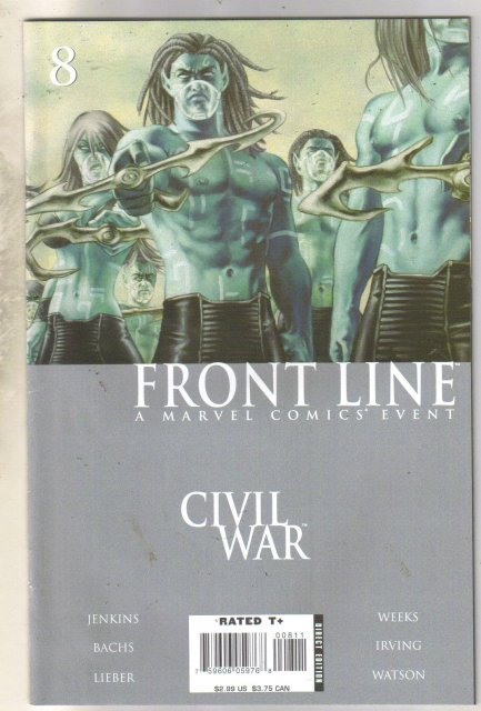 Frontline #8 comic book near mint 9.4