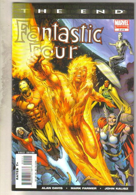 Fantastic Four The End #2 comic book mint 9.8