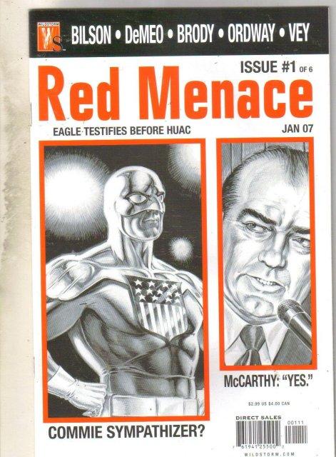 Red Menace #1 comic book near mint 9.4