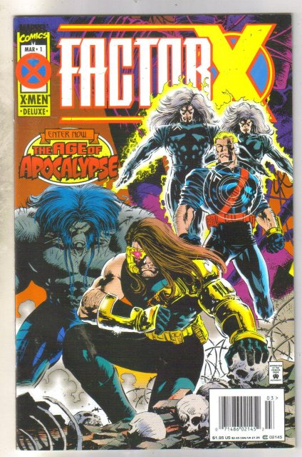 FactorX  #1 comic book near mint 9.4