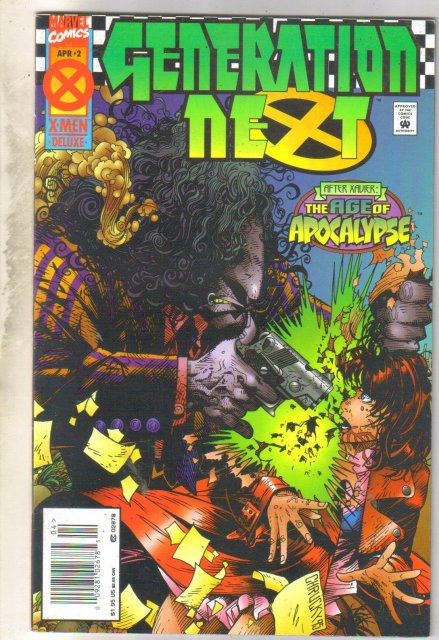 Generation Next #1 comic book near mint 9.4