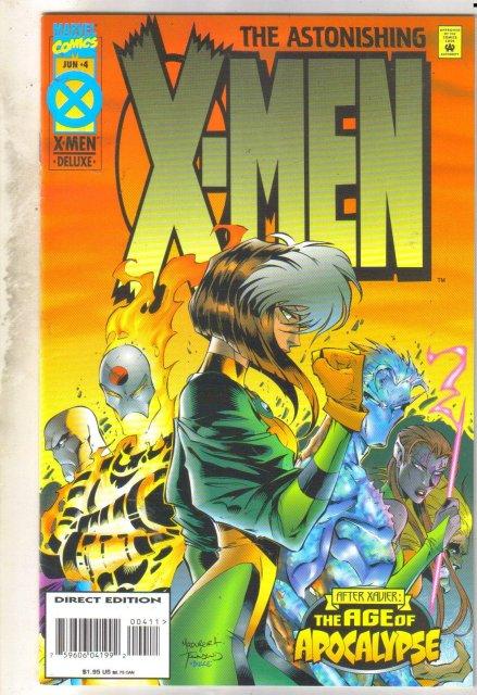 Astonishing X-men #4 comic book very fine 8.0